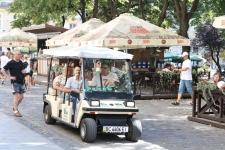 Туристи в центрі Львова